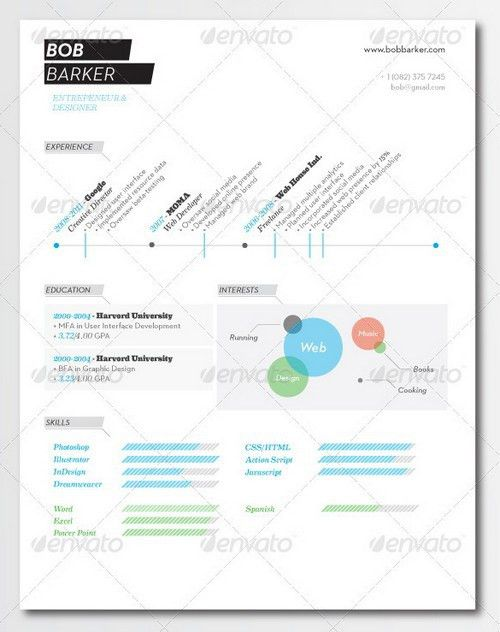 Resume Template Pages. 26Professional One Page 100+ Free Resume ...