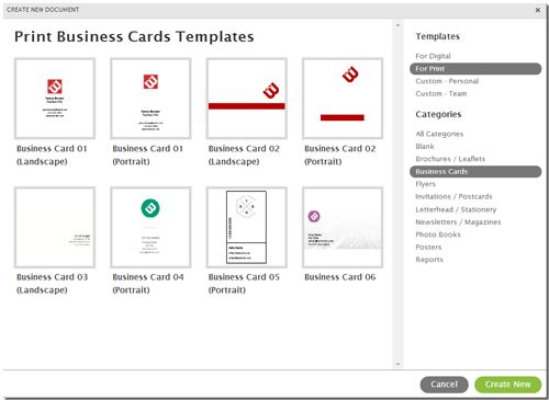 how to make business cards on word