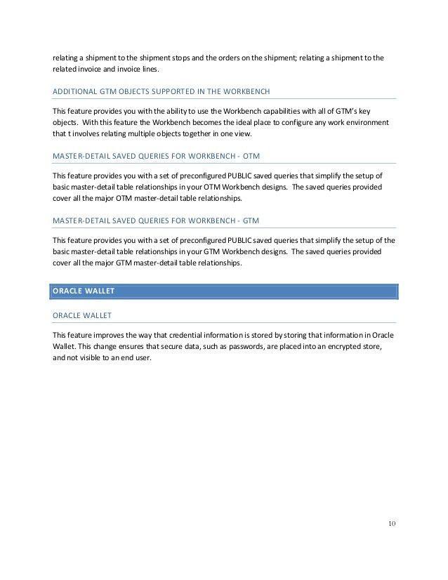 Release Content Document : OTM & GTM Cloud - Release 6.4.2