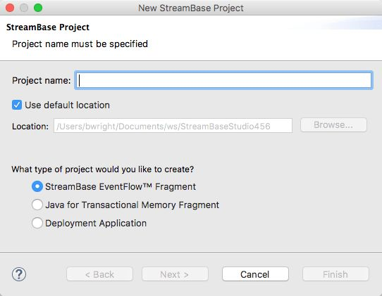 Deploying EventFlow Fragments