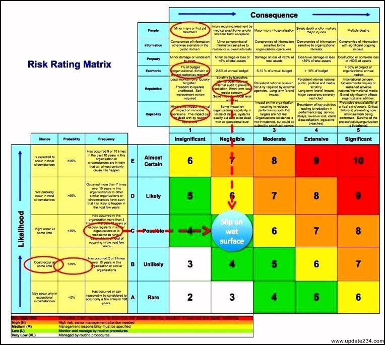 Business Risk Assessment Template Excel - Template Update234.com ...