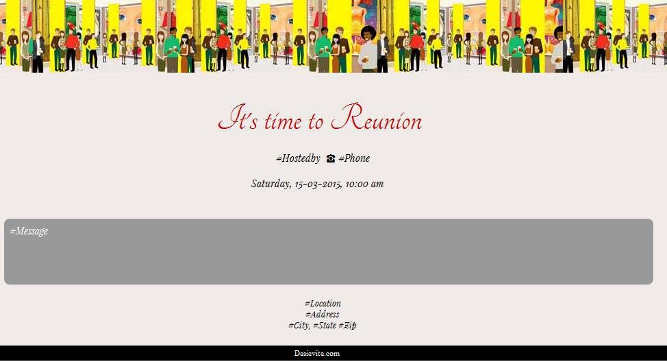 Free Get together Invitation Card & Online Invitations