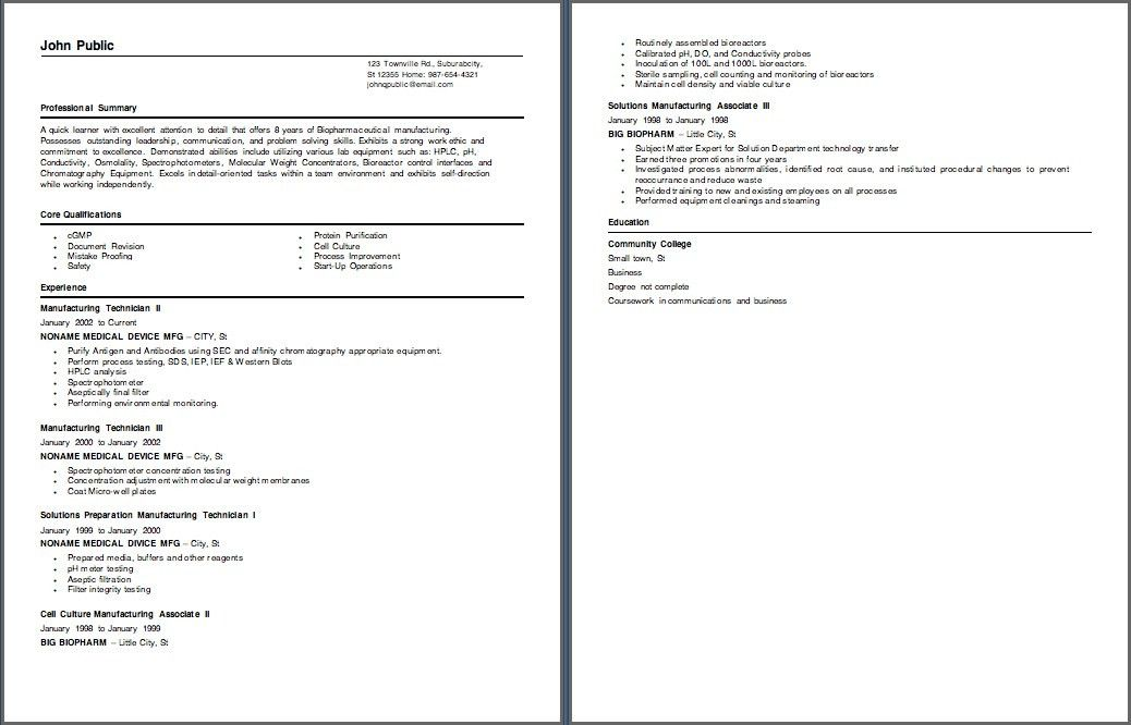 cover letters. biotech resume sample industry resume phd leaving ...