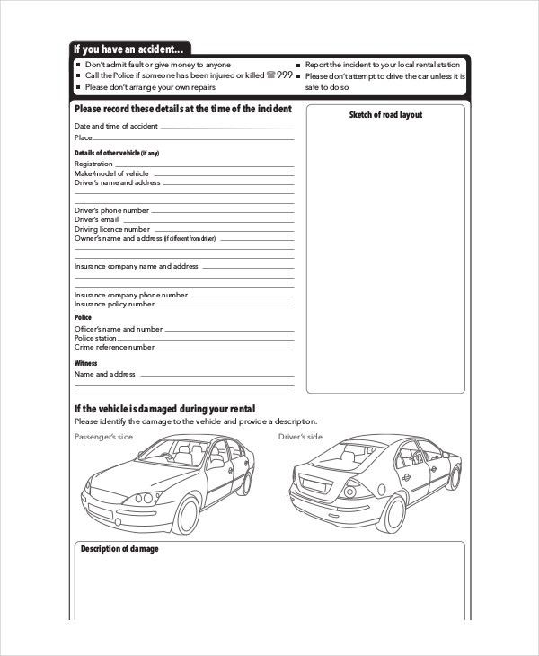 Free Vehicle Report - 13+ Free PDF, Word Documents Download | Free ...