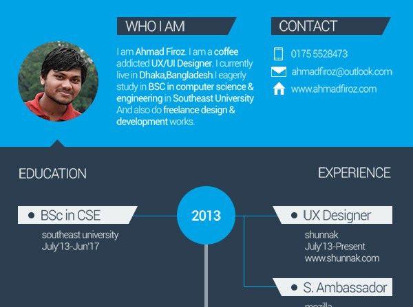 Simple Resume Template | Creative Beacon