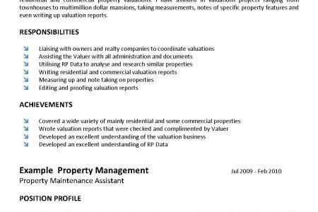 Real Estate Salesperson Resume Sample - Reentrycorps