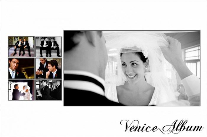 The 5 Best Templates for Wedding Album Layout Designs | Venice Album