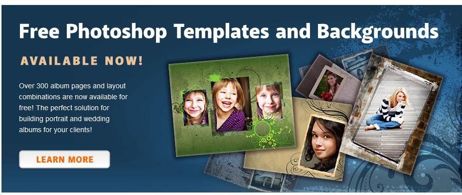 Free Photoshop Templates | cyberuse