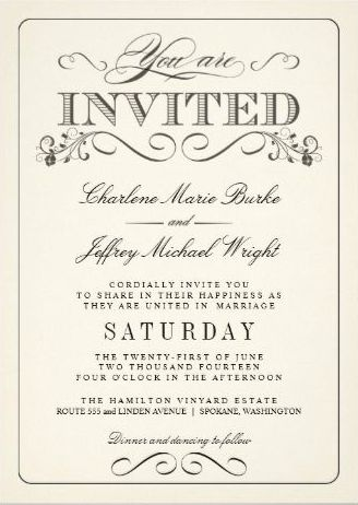 Cordially Invited Template | Best Template Collection