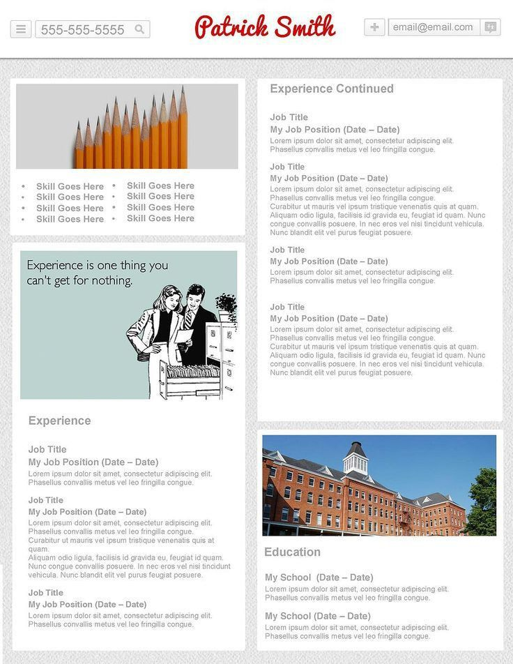 40 best Creative Resumes for Download images on Pinterest | Plugs ...