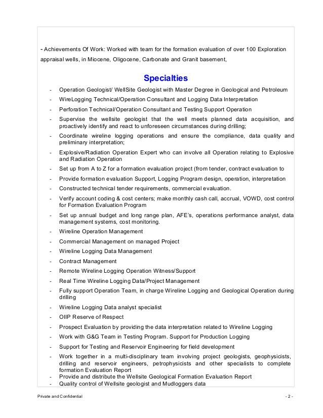 CV_Truong Van Thanh_Operation Geologist Consultant 2015