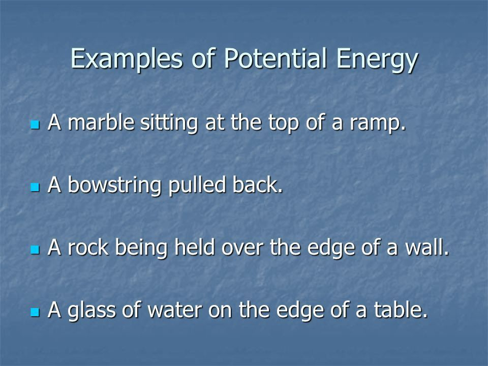 Energy and Motion Kinetic and Potential Energy. Energy We use the ...