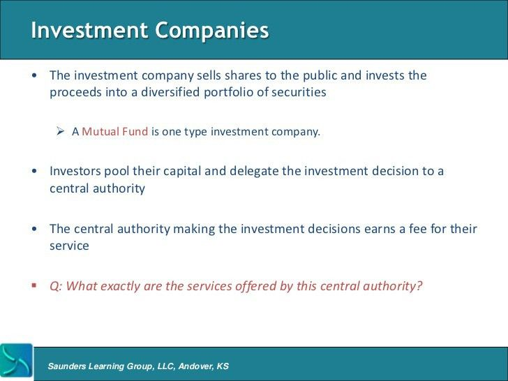 Overview of Asset Management Firms