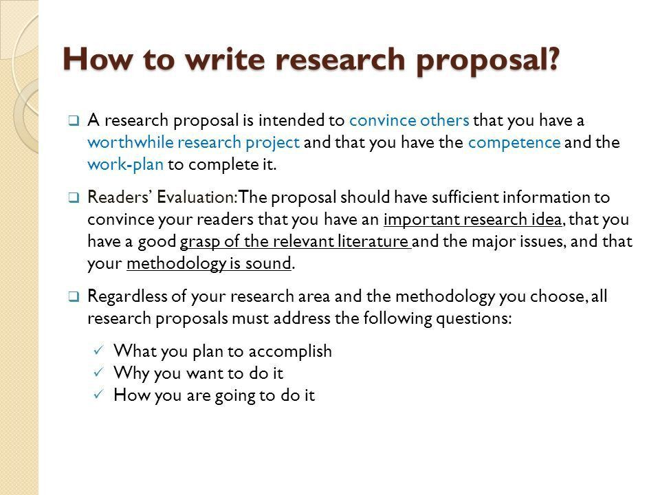 Write my health research proposal