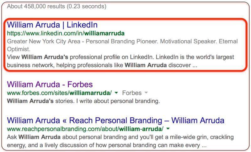 How to Write the Perfect LinkedIn Summary | William Arruda | Pulse ...