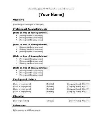 show resume samples show me examples of resumes select template ...