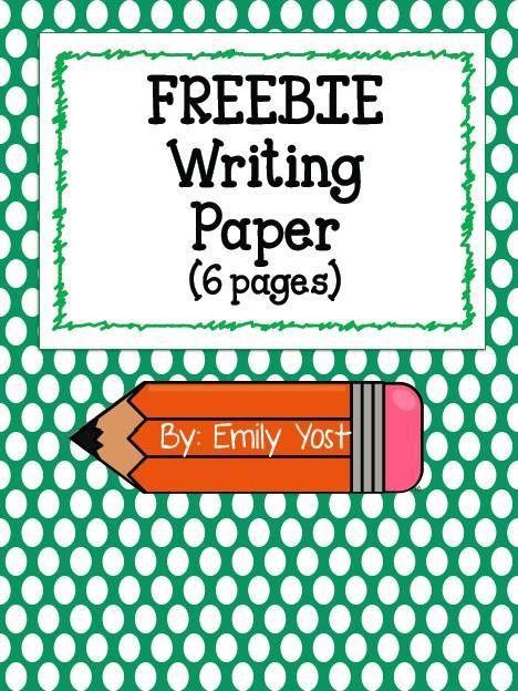 FREE Printable Writing Paper!