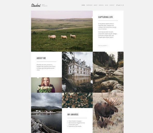 20+ Best HTML5 Photography Website Templates in 2017