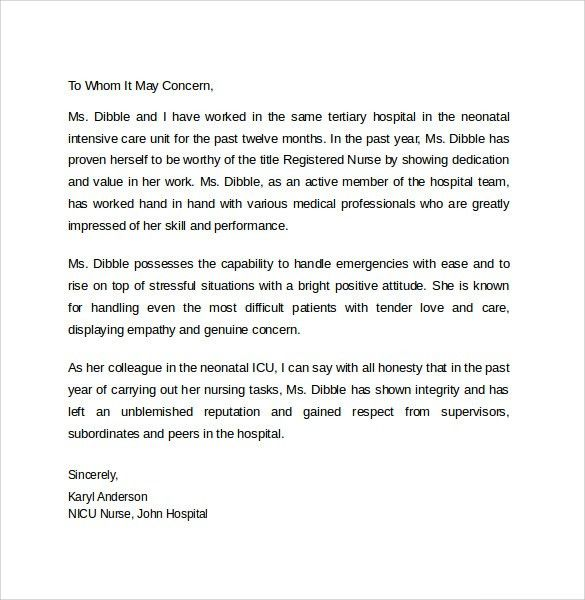 Personal Letter Of Recommendation. How To Write A Personal Letter ...