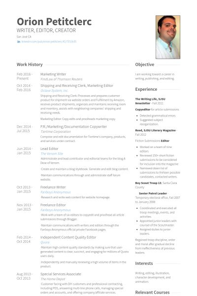 copywriter resume examples senior copywriter resume samples