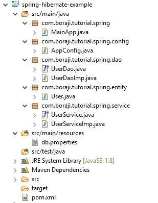 Spring 4 + Hibernate 5 integration example with zero xml   BORAJI.COM