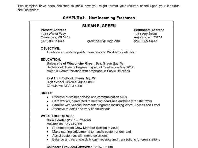 Sensational Ideas Examples Of Resume Objectives 13 Sample Resume ...