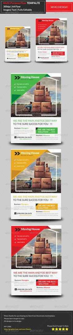 School Education Flyer Bundle Template PSD | Flyer Templates ...