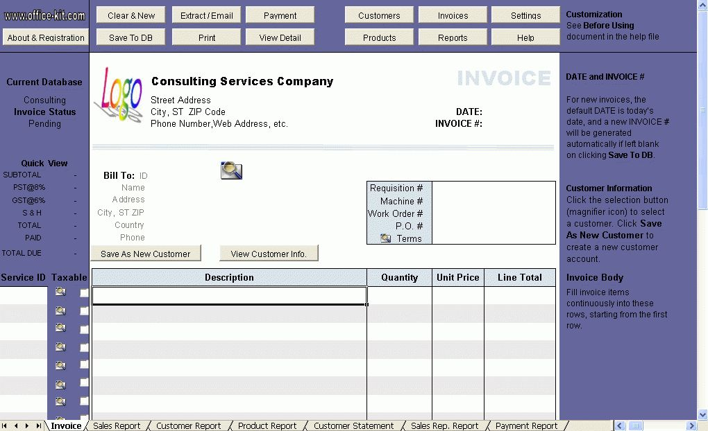 Download Gst Invoice Format in India Pdf | rabitah.net