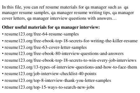 qa sample resumes spectacular idea qa resume 13 sample qa resume ...