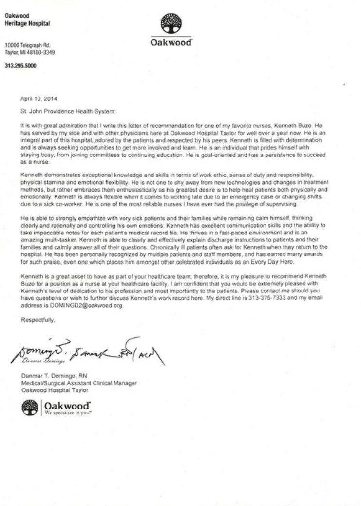 scholarship recommendation letter | Free Cover Letter