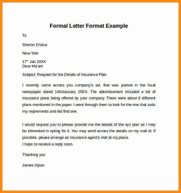 5+ official letter example | musicre sumed
