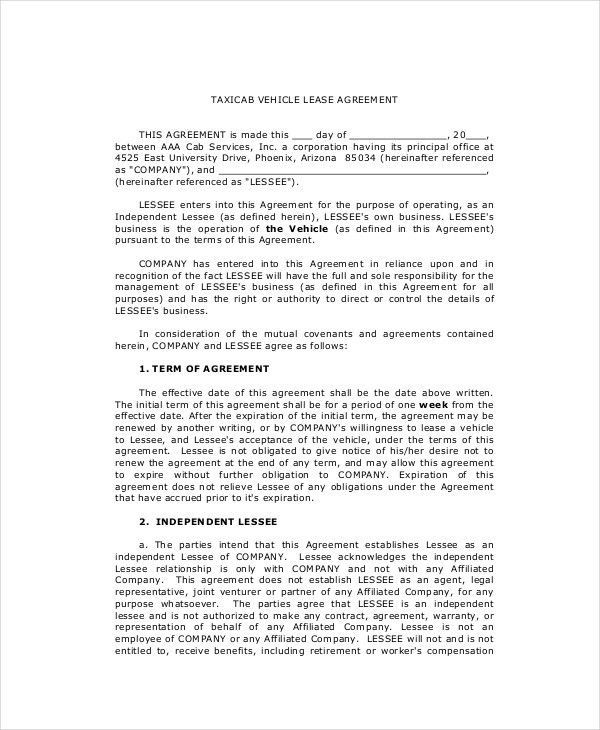 Lease Purchase Agreement - 9+ Free PDF, Word Documents Download ...