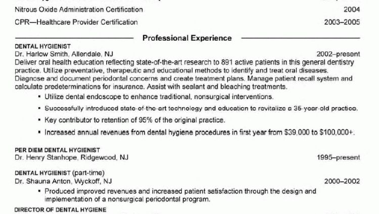 dental assistant resume sample tips resume genius