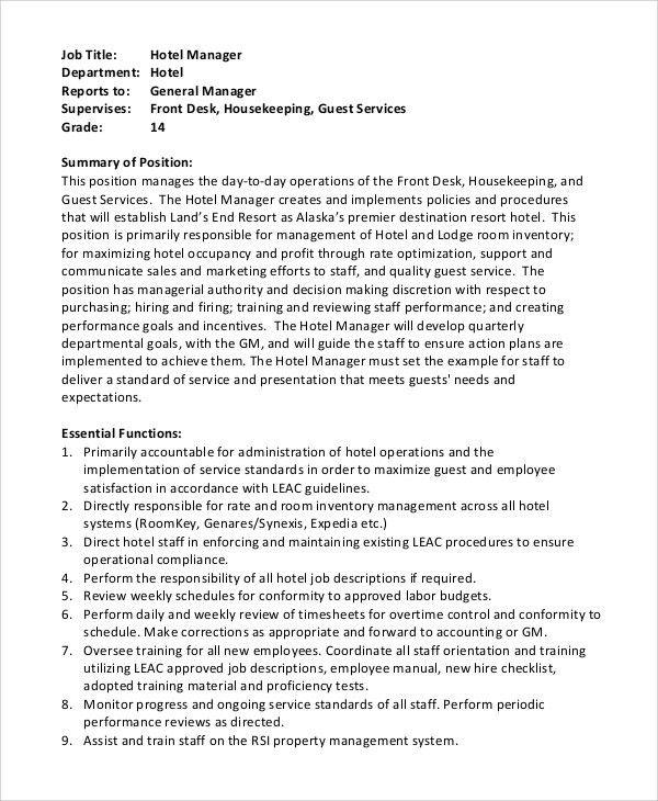 Service Manager Job Description. Business-Planning-Manager-Job ...