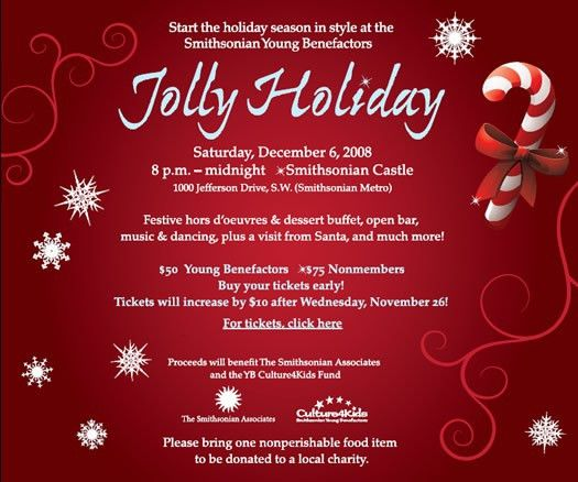 Free Holiday Party Invitation Templates - Blueklip.Com
