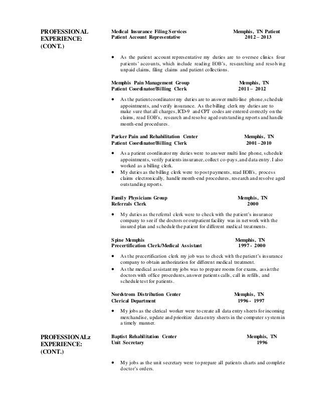 customer account representative sample resume buyers assistant ...