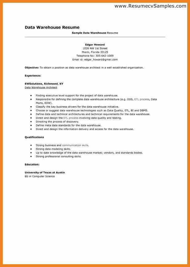 warehouse worker resume | teller resume sample