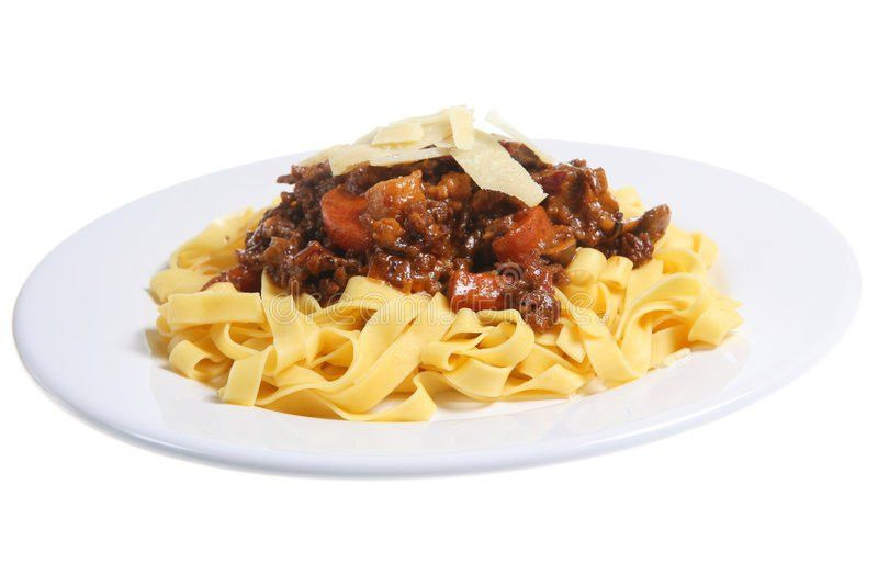 Spag Bol' Royalty Free Stock Photography - Image: 1895677