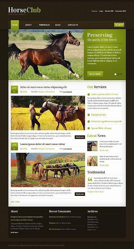 38 best Animal WordPress Themes images on Pinterest | Wordpress ...