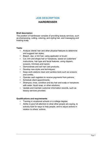 8 Style Consultant Job Description Job Duties fashion consultant ...