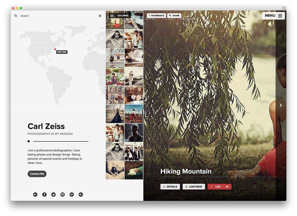 20 Best WordPress Themes for Photographers 2017 - Colorlib