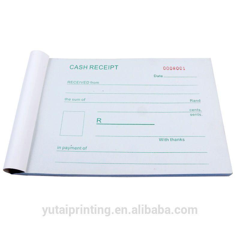 Receipt Book,Invoice,Bills,Account Book Printing - Buy Receipt ...