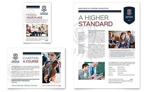 Education & Training Print Ads | Templates & Designs