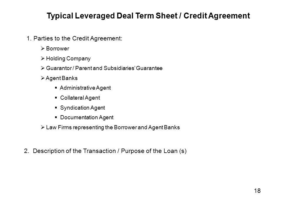 Credit Agreement. Letter Of Agreement Samples Template | Best ...