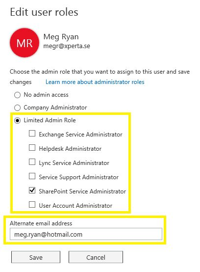 Office 365 News – Office 365 Limited Admin Roles are here | blksthl