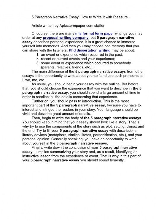 sample personal narrative essay. personal narrative essay draft a ...