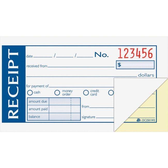 Discount Office Supplies Online | Office Mall - Money/Rent Receipt ...