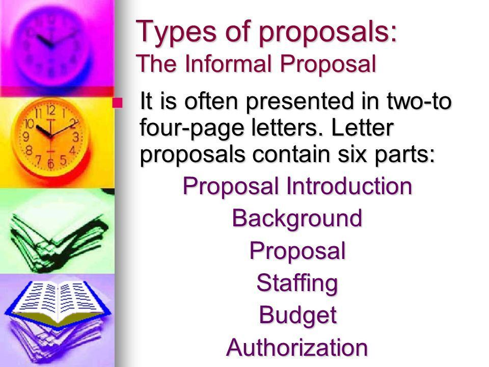 Writing Proposals Technical English. Introduction Entities that ...