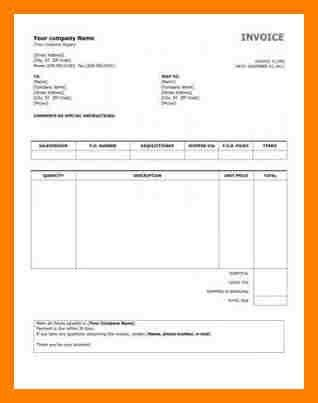 5+ samples of invoices for payment | packaging clerks