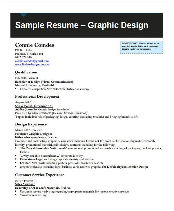 Artist Resume Template - 7+ Free Word, PDF Document Downloads ...